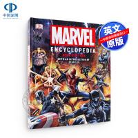 现货英文原版DK新版漫威百科全书精装Marvel Encyclopedia New Edition漫画人物设定集 蜘蛛侠