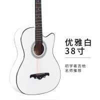 ?初学者吉他单板民谣玫瑰木古典吉他男女学生新手入门练习乐器38寸