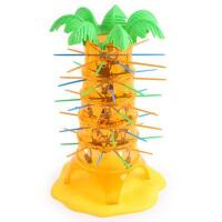 亲子儿童玩具桌游翻斗抽游戏棒翻滚吧猴子上树往下掉