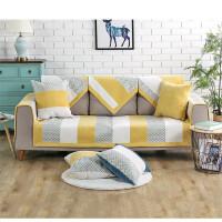 门扉 沙发垫套装 加厚布艺四季通用沙发垫套罩防滑沙发巾多用飘窗垫子窗台垫组合沙发垫坐垫子