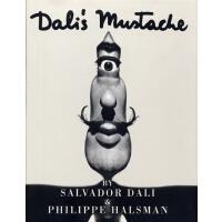 现货达利的胡子英文原版 Dali's Mustache Philippe Halsman 菲利普・哈尔斯曼 实验摄影 超