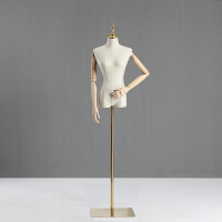 家居生活用品模特道具女半身人台展示架服装店橱窗假人韩版衣服穿版模特架