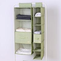 无异味悬挂式折叠衣柜收纳挂袋整理袋带抽屉式布艺衣柜收纳盒
