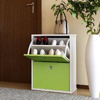 【当当自营】慧乐家时尚创意鲁比克二门青绿色鞋柜FNAJ-11047-2