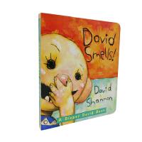 David Smells!: A Diaper David Book 纸板[2-5岁]