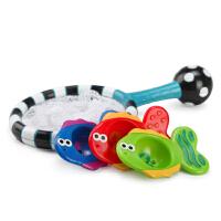 美国sassy 宝宝捞鱼乐早教系列婴儿戏水洗澡玩具网兜钓鱼组合