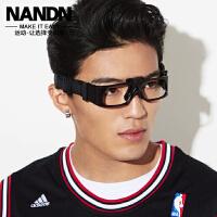 篮球眼镜踢足球防雾近视眼镜运动护目镜 男