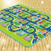蔓葆城市交通道路婴儿爬行垫折叠防潮地垫 游戏野餐垫宝宝爬行毯 城市交通单面