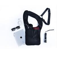 特工腋下挎包战术隐形背包防水防盗男女户外运动贴身钱包