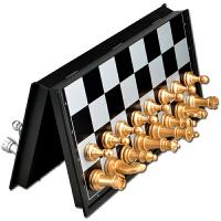 国际象棋 金银色中号大号特大号国际象棋王5厘米带磁石象棋 特大号