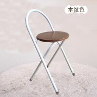 简易折叠凳子餐凳便携式凳家用折叠凳圆凳钓鱼凳加固轻便