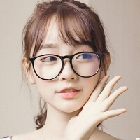 光度经典潮流眼镜框2180 学院复古风金属眼镜架 可配近视眼镜