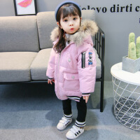 女童冬装棉衣2018新款韩版1-3岁女宝宝洋气时髦4儿童装加厚棉