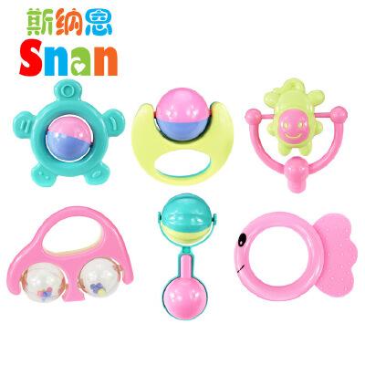婴儿玩具0-1周岁儿童宝宝3-6-12个月手摇铃套装早教幼儿