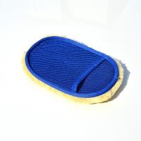 洗车手套汽车专用单面加绒擦车手套家用清洁海绵套打蜡用品工具 其他