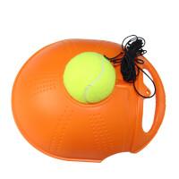 网球训练器 初学者单人网球拍练习器 自动回弹赠带绳带线网球