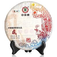 【中粮我买】中茶牌普洱熟茶凤印茶饼357g