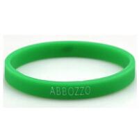 原创潮牌ABBOZZO小清新绿叶手环情侣款 男女腕带学生运动硅胶手环