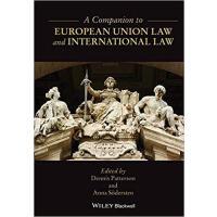 【预订】A Companion To European Union Law And International Law