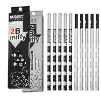晨光2B铅笔米菲圆杆铅笔考试铅笔学生铅笔FWP35901