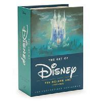 英文原版 迪斯尼的艺术 珍藏版明信片 Art of Disney: The Golden Age (1937-1961