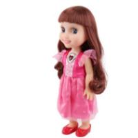 英文音乐大眼米亚公主 大眼娃娃 智能洋娃娃儿童女孩玩具