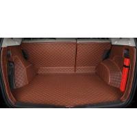 专用于本田CRV后备箱垫12-13-15-2016款17新CR-V全包围汽车尾箱垫 时尚棕 备注车型
