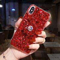 新款手机壳女款网红潮小米mix2s带钻支架奢华水钻保护套