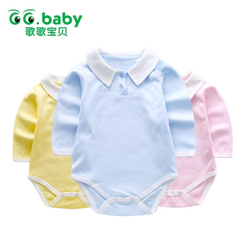 【99元4件到手价:24.8】歌歌宝贝婴儿包屁衣春秋0-12个月宝宝三角哈衣