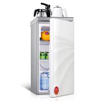 德姆勒(DEMULLER)98升冰箱 家用单门门茶吧冰箱 迷你冰箱 办公室时尚商务茶吧机电冰箱