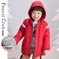 【跨店3件2折�r:73.8元,可�B券】�U�P俱�凡客��b2020冬季新款男童�B帽棉衣小童外套�和�保暖上衣