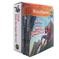 英文World of Reading Marvel 漫威超级英雄 初级阅读