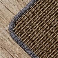 手工缝边剑麻地毯地垫客厅卧室茶几毯书房玄关可定制 C11