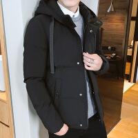 冬季棉衣士韩版潮流保暖加厚衣服短款连帽羽绒棉袄装