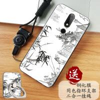 诺基亚X5手机壳NokiaX5防摔保护套TA-1109全包硅胶磨砂软套外壳潮 诺基亚X5- 江南