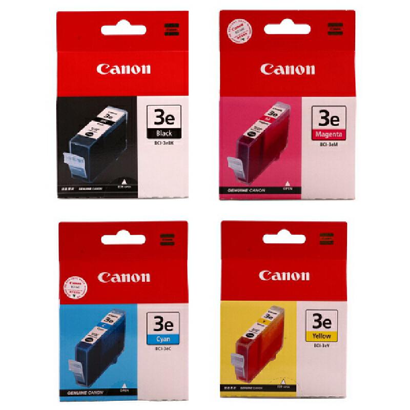 佳能原装 BCI-3BK黑色 C青色 M红色 Y黄色 佳能 MP700 730 MPc400 MPc600 BJC-6000 6200 S4500 600 S520D S750 i550 i850 S530D S6300 i6100 i6500 6500 S400 BJC-3000 3010 3200 6100 S450 S500 S630 S700打印机墨盒 满99包邮!原装正品!黑彩可选!