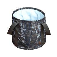 便携折叠水盆户外洗脸盆大容量野营旅行泡脚桶可装热水水桶
