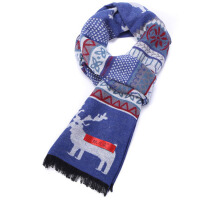 冬季保暖围脖  女可爱蚕丝拉绒围巾  年轻人小熊围巾