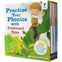 oxford reading tree 牛津��x�� �典故事Practice Your Phonics自然拼�x法 21本