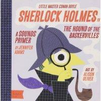 英文原版 Babylit 宝贝文学系列:福尔摩斯之巴斯克维尔的猎犬 Sherlock Holmes in the Ho