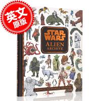 现货 星球大战外星生物设定集:银河系物种起源指南 英文原版 Star Wars Alien Archive:A Gui
