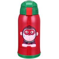 韩国正品杯具熊儿童保温杯 两用带吸管水壶男女学生婴儿便携水杯子