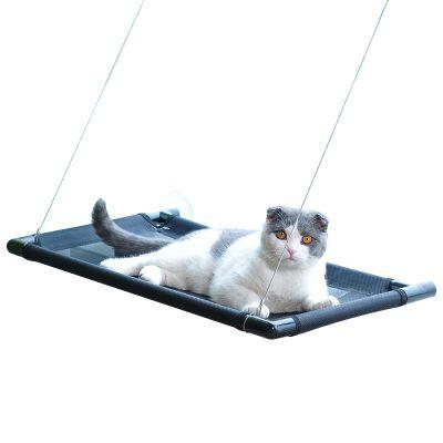 猫吊床猫窝猫咪吊床窝窗台挂窝玻璃吸盘式吊床猫床猫爬架猫咪用品  收藏加购优先发货 承重35斤  猫咪乐园