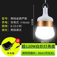 夜市地摊充电LED应急停电户外摆摊超亮便携家用照明节能充电灯泡