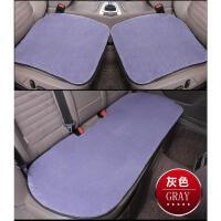 冬季毛绒汽车坐垫无靠背三件套羊毛座垫保暖女通用单片车垫子毛垫