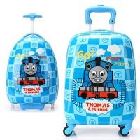20180509071513026原单儿童拉杆箱原单托马斯卡通汽车16寸万向轮男童行李旅行箱