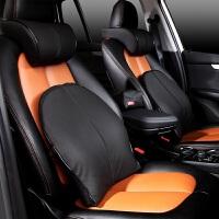 东风风神H30 S30 A30 A60 AX7 AX3L60车载座椅头枕腰靠 头枕+腰靠 黑色黑条 单边