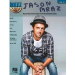 【预订】Ukulele Play-Along Volume 31: Jason Mraz (Book/CD) 9781