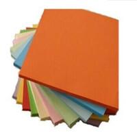 儿童手工纸 折 千纸鹤用纸彩色A4纸 彩色纸 十色一包 100张入 A4彩色复印纸 颜色*