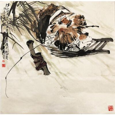 王涛《愿者上钩》著名画家